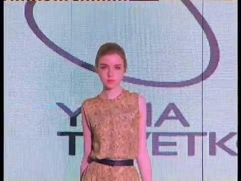 Yana Tsvetkova fall/winter 2014-2015 in Urumqi, China (3rd Eurasia Silk Road Fashion Fair