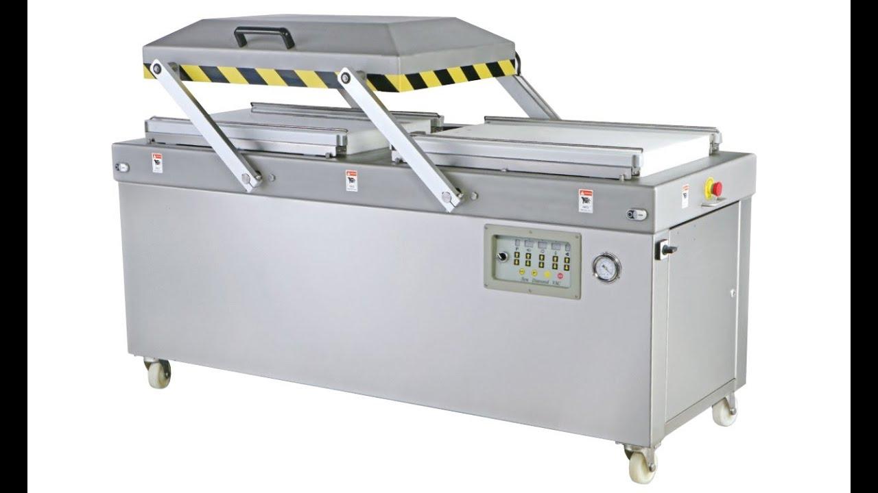 Outside Pumping Vacuum Packing Machine Seal Food Packaging Vakuum Verpackungsmaschine