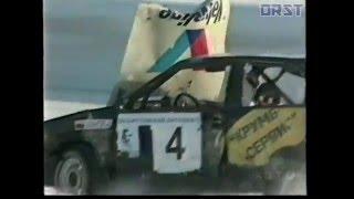 Аварии на ЧР по зимним трековым гонкам 2001 года