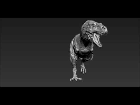 Daspletosaurus anatomy
