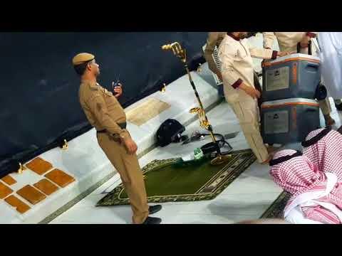 Hajj 2018 (1439) Makkah Live seurity police   المسجد الحرام