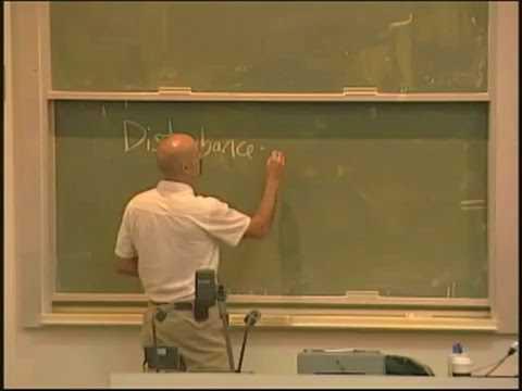 Lecture 07. Community Ecology II (Biology 1B, Fall 2010, UC Berkeley)