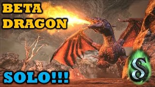 OUTDATED: ARK 2017 Official Stats - SOLO BETA DRAGON - T-REX / THERIZINOSAURUS + DAEODON ARMY