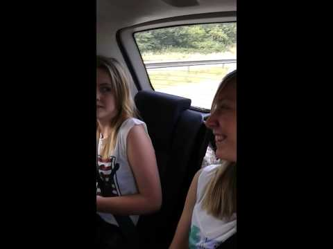 Car journey - on the motorway - singing..