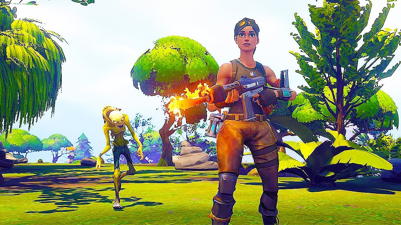 FORTNITE 35 Minutes Of Gameplay Demo Early Access First Missions PS4 XBOX ONE PC YouTube