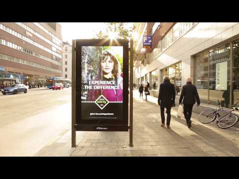 Goretex Dynamic Content campaign responds to weather | JCDecaux Sweden