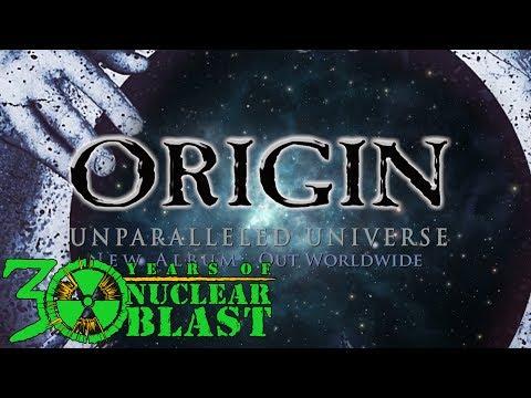 ORIGIN - New Album: Unparalleled Universe (OUT WORLDWIDE)