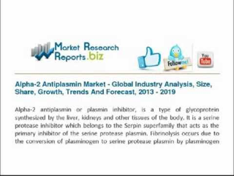 Alpha-2 Antiplasmin Market - Global Industry Analysis, Size, Share, Growth, Trends
