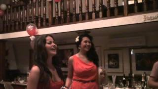 Лена и Катя   поздравления жениха и невесты