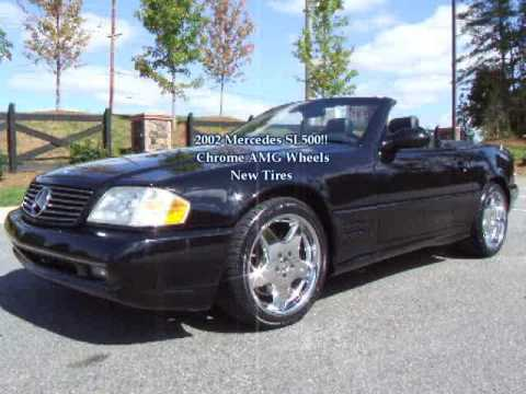 2002 mercedes benz sl500 for sale youtube for Mercedes benz sl500 for sale