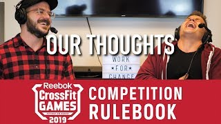 Crossfit Games 2019 New Rulebook Is Out! | What's Changed?