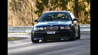 BMW E46 M3 Nurburgring Nordschliefe Fun Lap