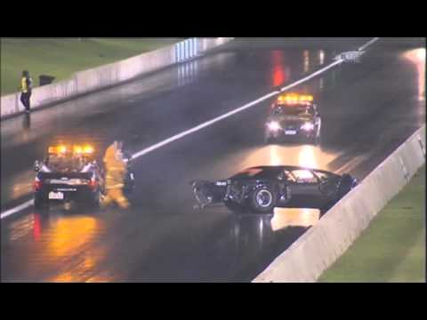 Norbert Claite Drag Crash (knocked out) 2013 Western Nations