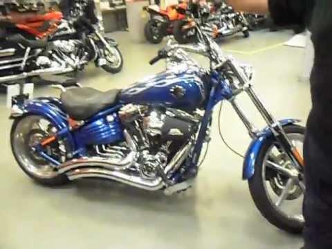 Harley-Davidson Rocker C with a 120 cubic inch (2000 cc) engine