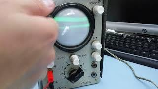 Oscilloscope LO-70 (kichik ta'mirlash)