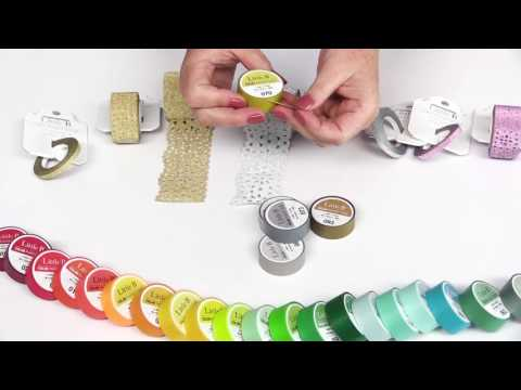 Little B - Decorative and Colored Paper Tape