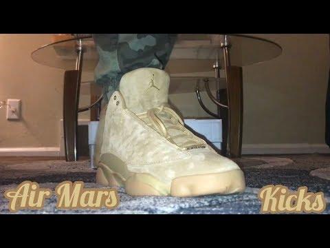 540ff738e21 Jordan 13 Wheat (Elemental Gold) On-Feet/Ask The Fam Vlog - YouTube