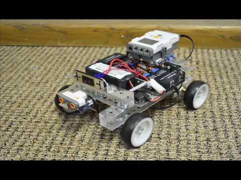 Small Fry My First Tetrix Robot Youtube