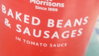 Inside Morrisons own brand baked beans & sausages in tomato sauce. Dec 2019 10:11:43