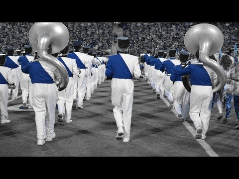 Largest Marching Band in America, Allen High School performs Cyclone -  UIL Area Marching Contest