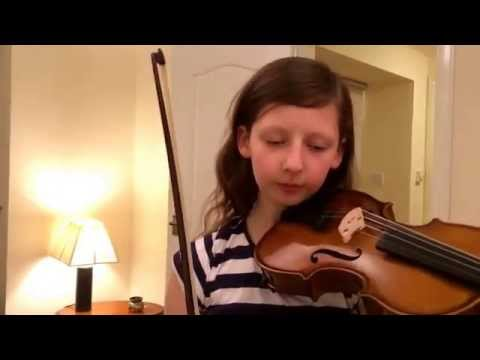 Fairytale of New York violin cover by Jenna