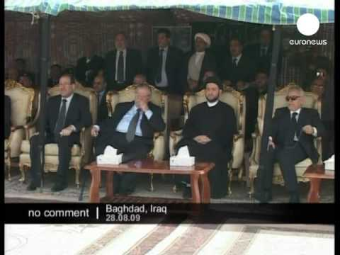 Body of Shiite leader Abdul-Aziz al-Hakim arrives in Baghdad - no comment
