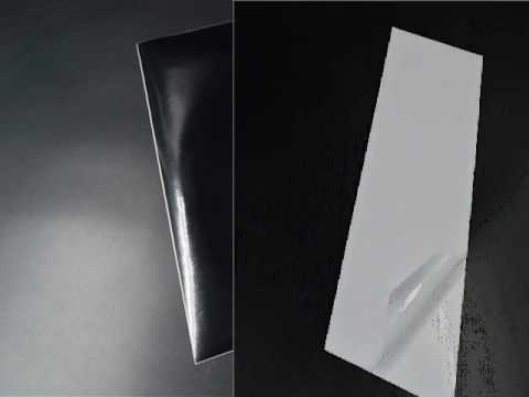 glossy sticker paper chrome for label printing