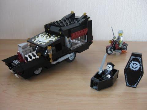 ЛЕГО Катафалк вампира, LEGO 9464 Monster Fighters, Vampire hearse.