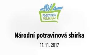 Národní potravinová sbírka 2017