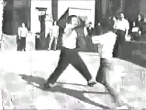 Challenge fights in Hong Kong in 1950s - and using internal Wing Chun in self defense