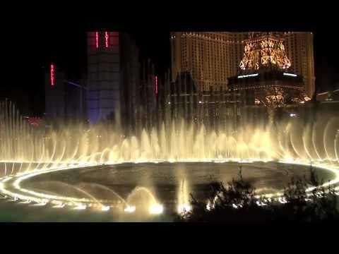 Bellagio Fountains Las Vegas - Beyonce Halo