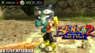 Blinx 2: Masters of Time & Space - Gameplay Xbox HD 720P (Xbox to Xbox 360)