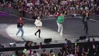 190119 Red Velvet Yeri/NCT Dream Jeno, Jaemin, Renjun - Hair In The Air (SMTOWN in Chile)