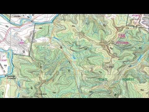 AusNav #14 - Topographical Maps Basics