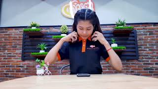 Remax Wearing Bluetooth Headset RB-520HB By SROLANH Smart Store
