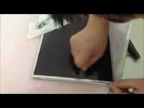 видео: Замена поляризационной пленки на ЖК дисплее