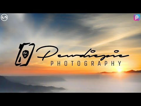 Photography Signature Logo - Picsart Tutorial