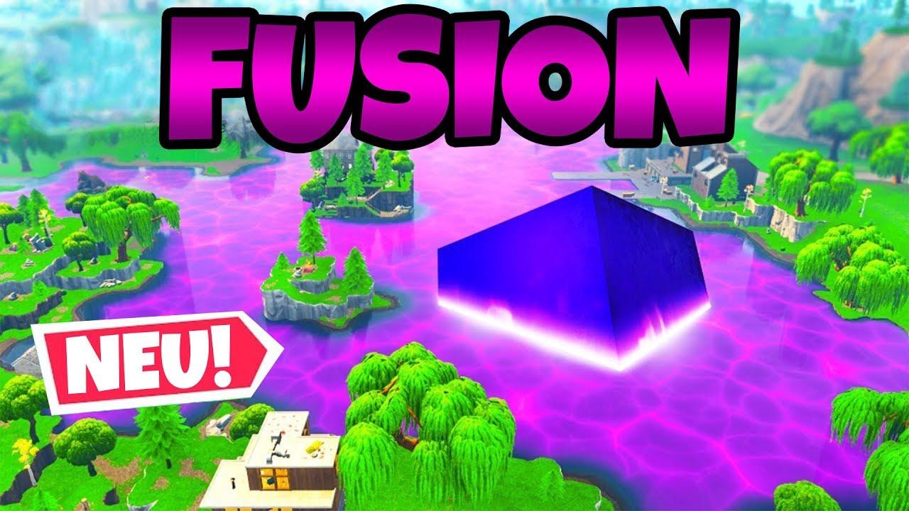 Würfel Aktiviert Season 6 Fusion Fortnite Battle Royale Youtube