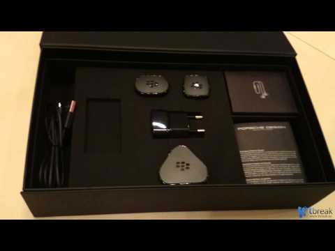 BlackBerry Porsche Design P'9983 Unboxing