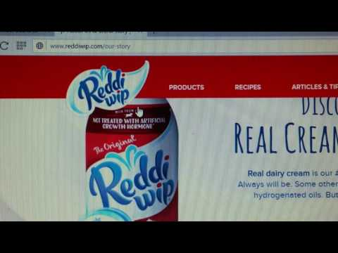 "Mandela Effect ""Reddi Whip is now Reddi Wip"""