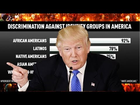 Most white Americans polled say they face discrimination