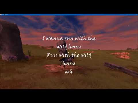 Natasha Bedingfield-Wild Horses lyrics/Star Stable