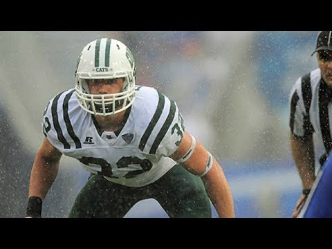 Quentin Poling Ohio LB vs Troy 2016