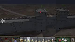 Efsane Antakya Savunması - 900 Turk vs 3600 Mongols Defending Antioch