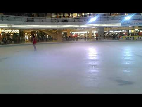 Djohana Natalia Adult Figure Skater Solo Program Alpha Lavel Skate Jakarta
