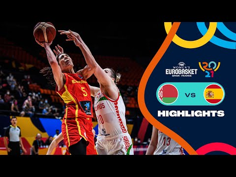 Belarus - Spain | Highlights - FIBA Women's EuroBasket 2021