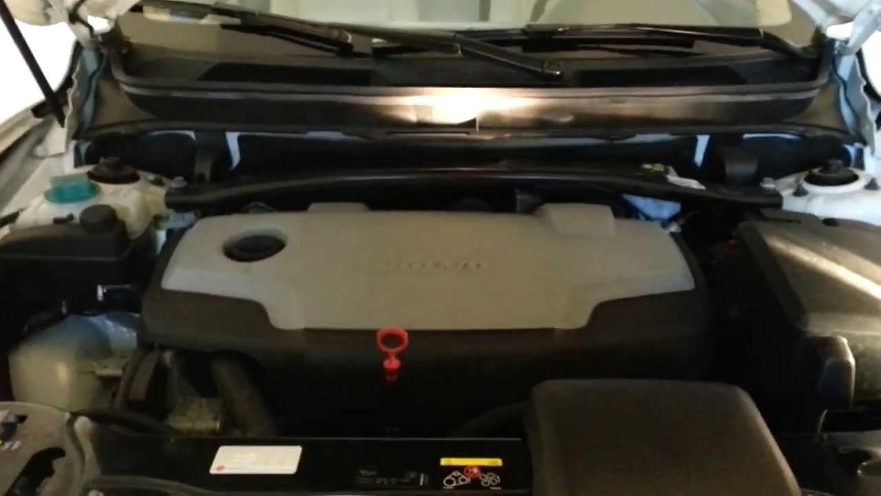 Volvo XC90 D5 blubbert und raucht, Motor defekt? - YouTube