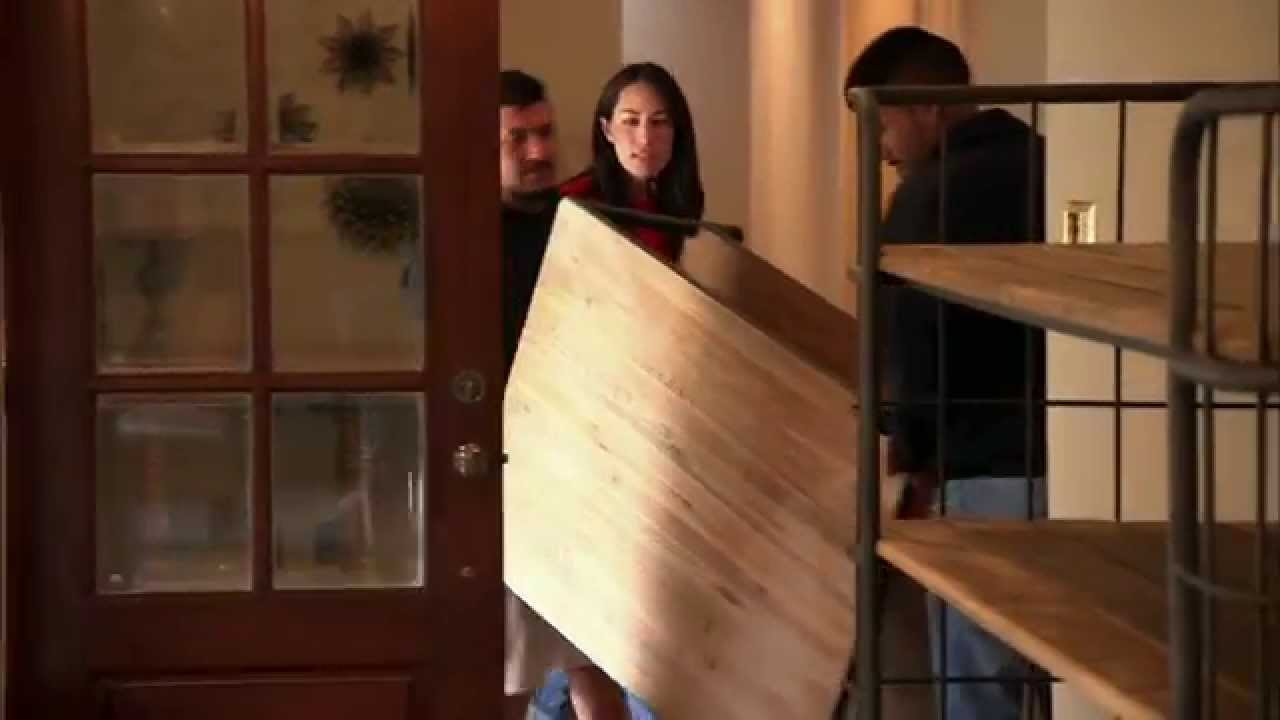 Rearranging a room fixer upper hgtv asia youtube Does the furniture stay on fixer upper
