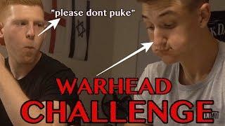 WARHEAD CHALLENGE *ALMOST CHOKE*
