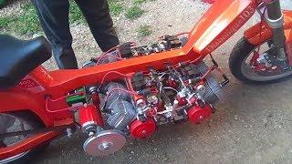 بيجو 103 بثمانية محركات Peugeot 103 8 moteur